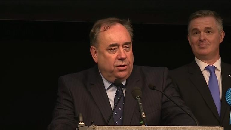 Former SNP leader Alex Salmond loses seat in Gordon