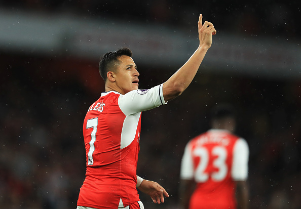 Alexis Sanchez: 'Agent dealing with future'
