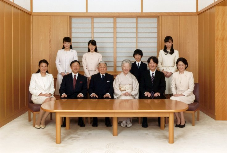The royal family of Japan.