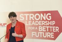 Democratic Unionist Party leader Arlene Foster