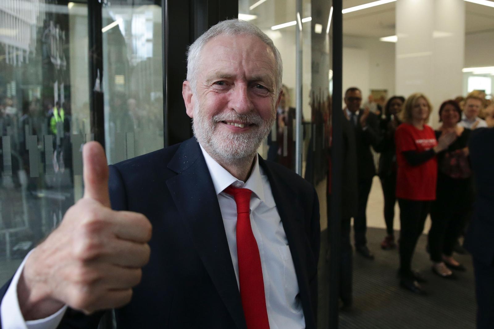 UK election 2017 Jeremy Corbyn