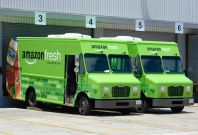 Amazon grocery delivery service network in India