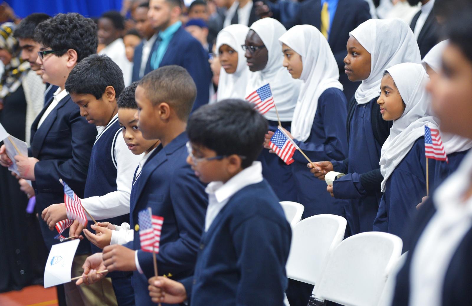 US Muslim children