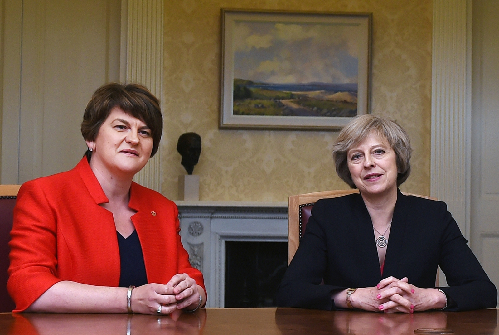 Arlene Foster Theresa May