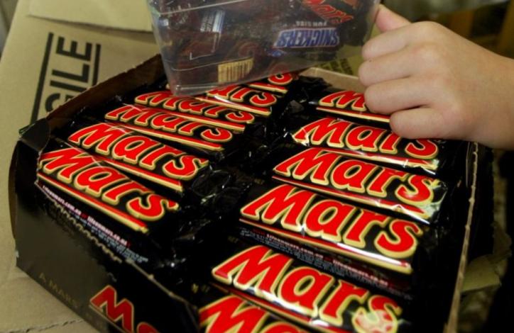 mars bars chocolate