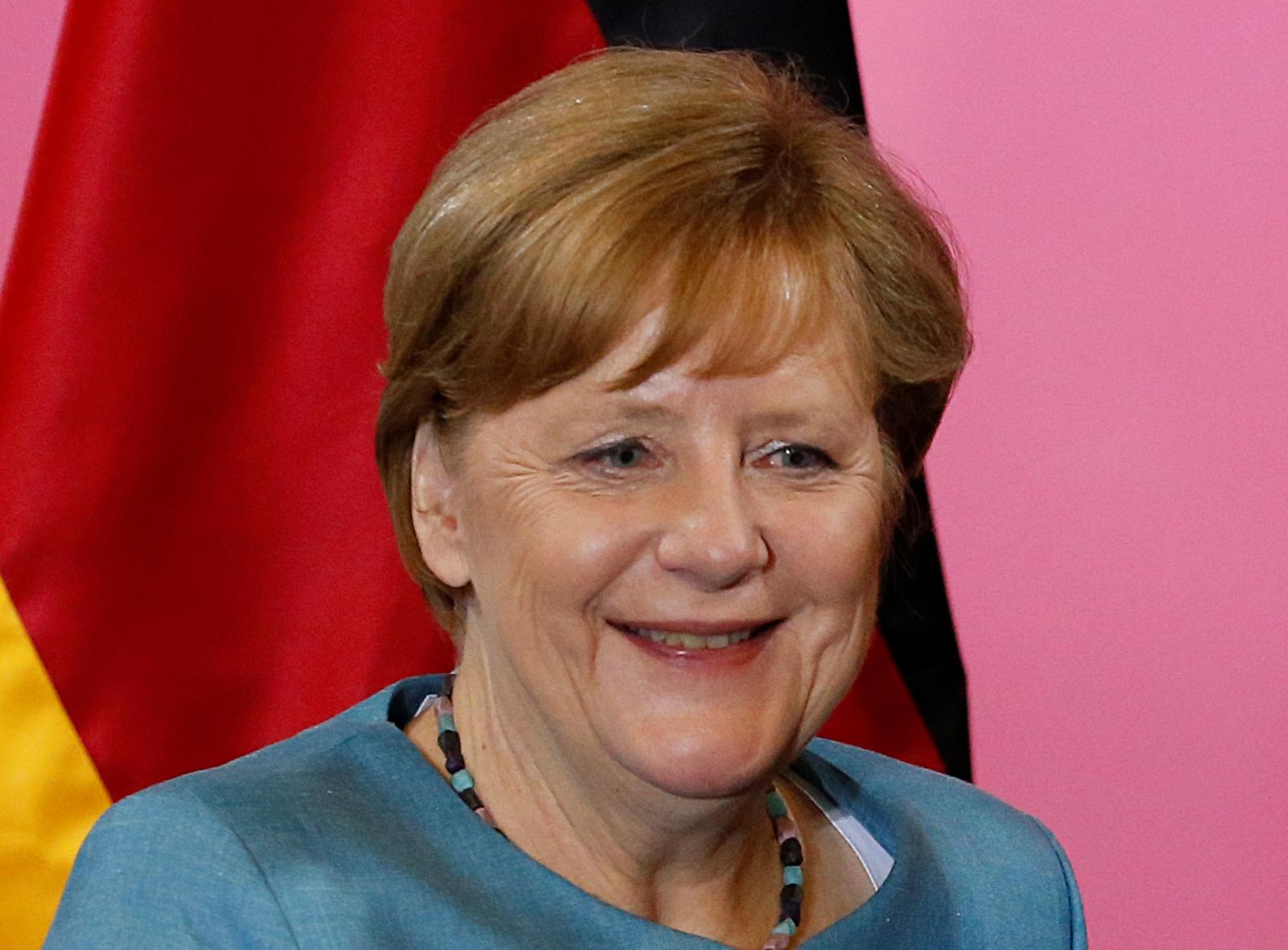 Germanys Chancellor Angela Merkel