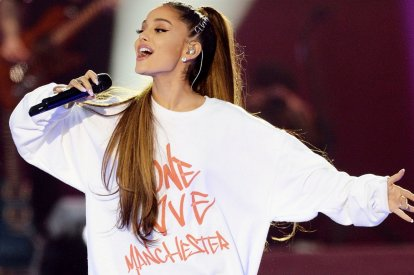 Ariana Grande's charity single chart postiion