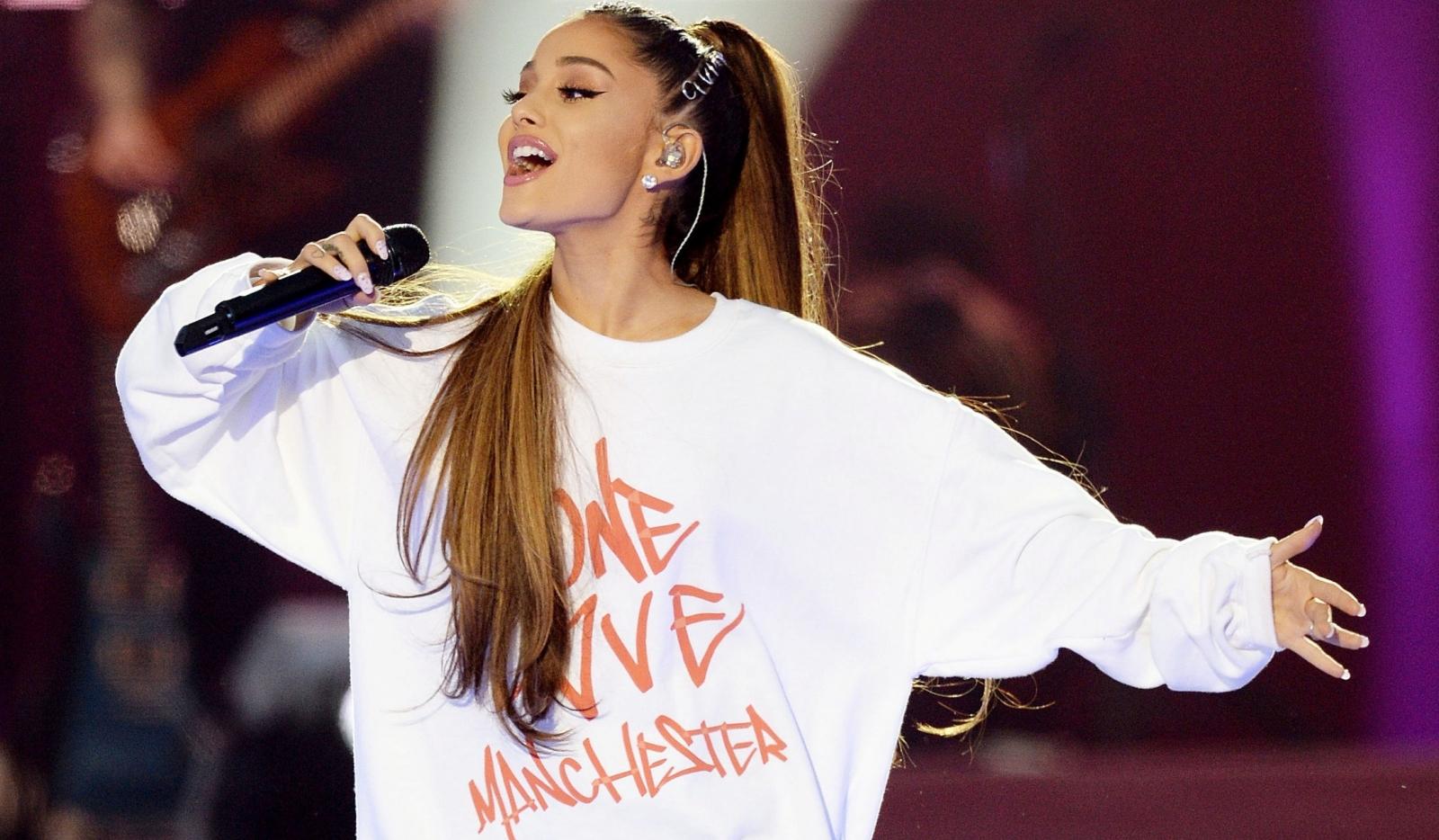 Ariana Grande's charity single chart postiion