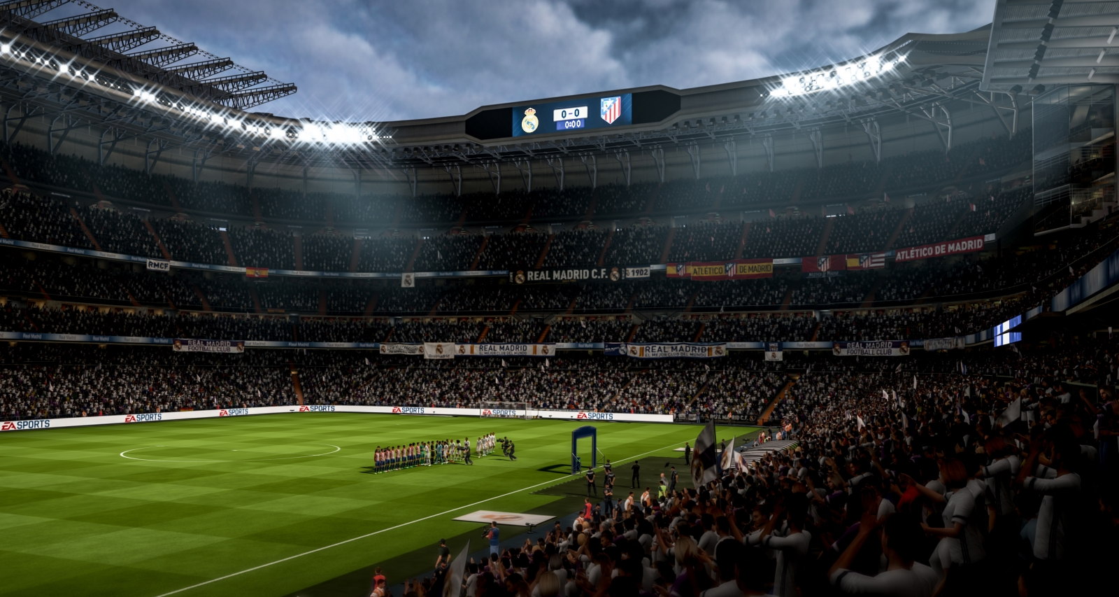 Fifa 18 lighting