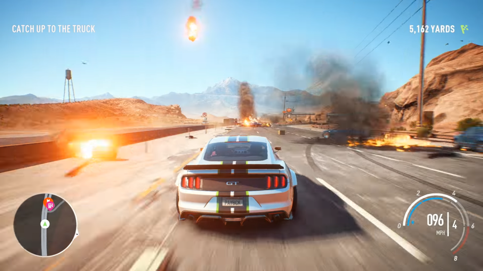EA and Ghost Games Reveal First Need For Speed Payback Gameplay