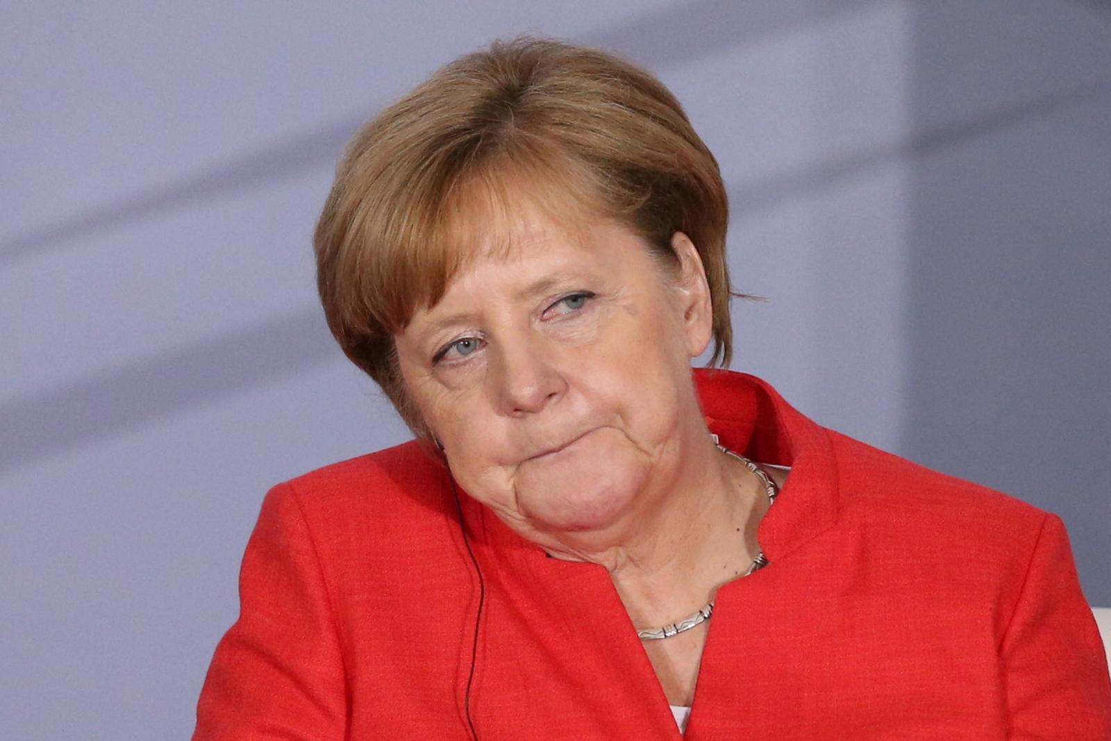 Angela Merkel on Mexico wall
