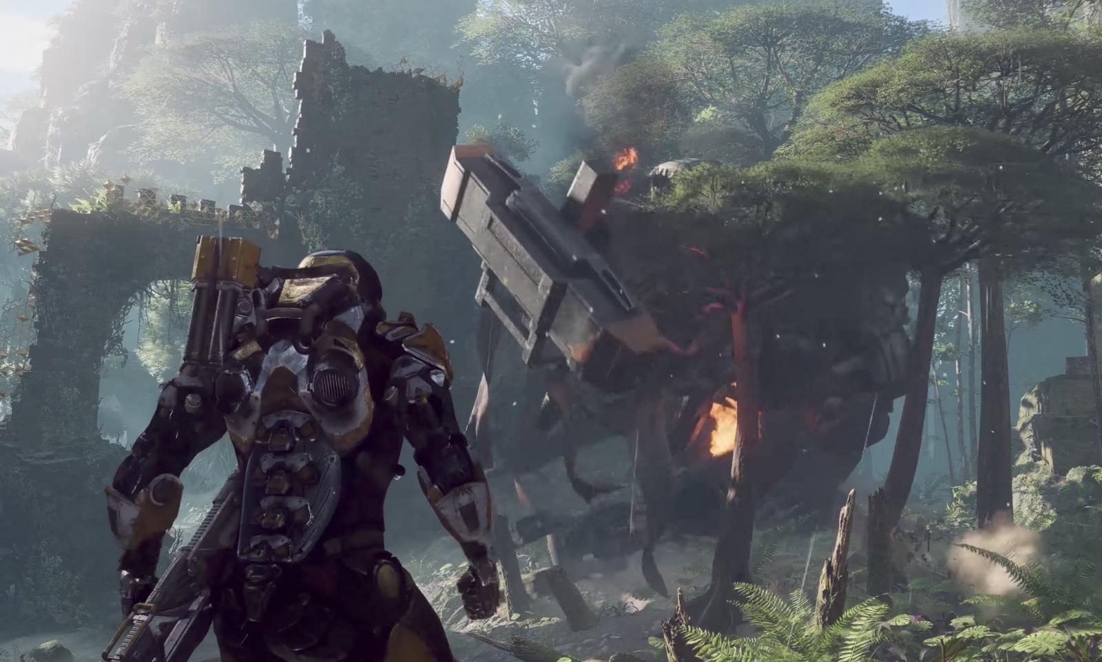 Anthem gameplay E3 2017