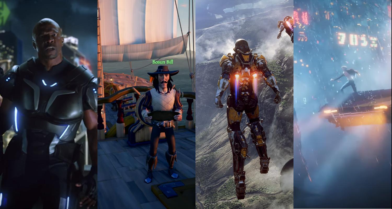 Xbox Microsoft E3 Anthem Crackdown