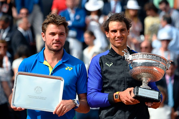 Stan Wawrinka and Rafael Nadal