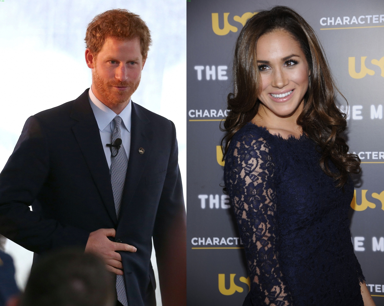 Prince Harry Gives Meghan Markle A Gold Diamond Ring