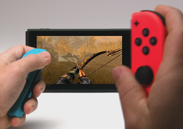 Skyrim for nintendo switch will come with zelda amiibo for Housse zelda nintendo switch
