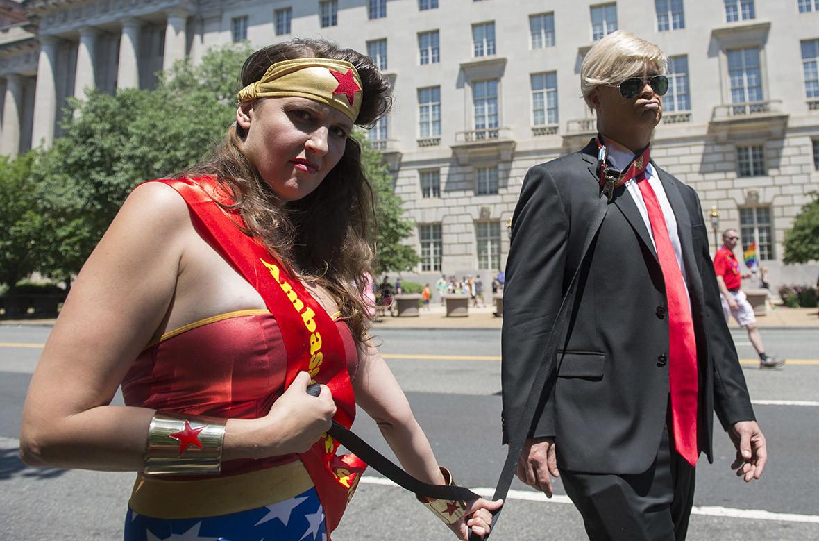 West Hollywood Gay Pride LGBT resist DonaldTrump