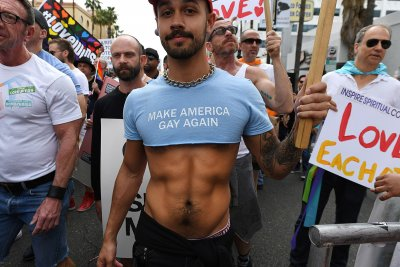 West Hollywood Gay Pride LGBT resist DonaldTrump