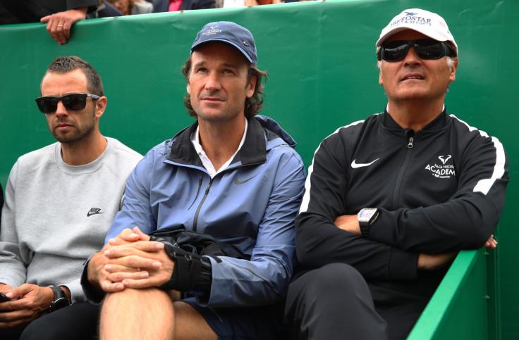 Carlos Moya and Toni Nadal
