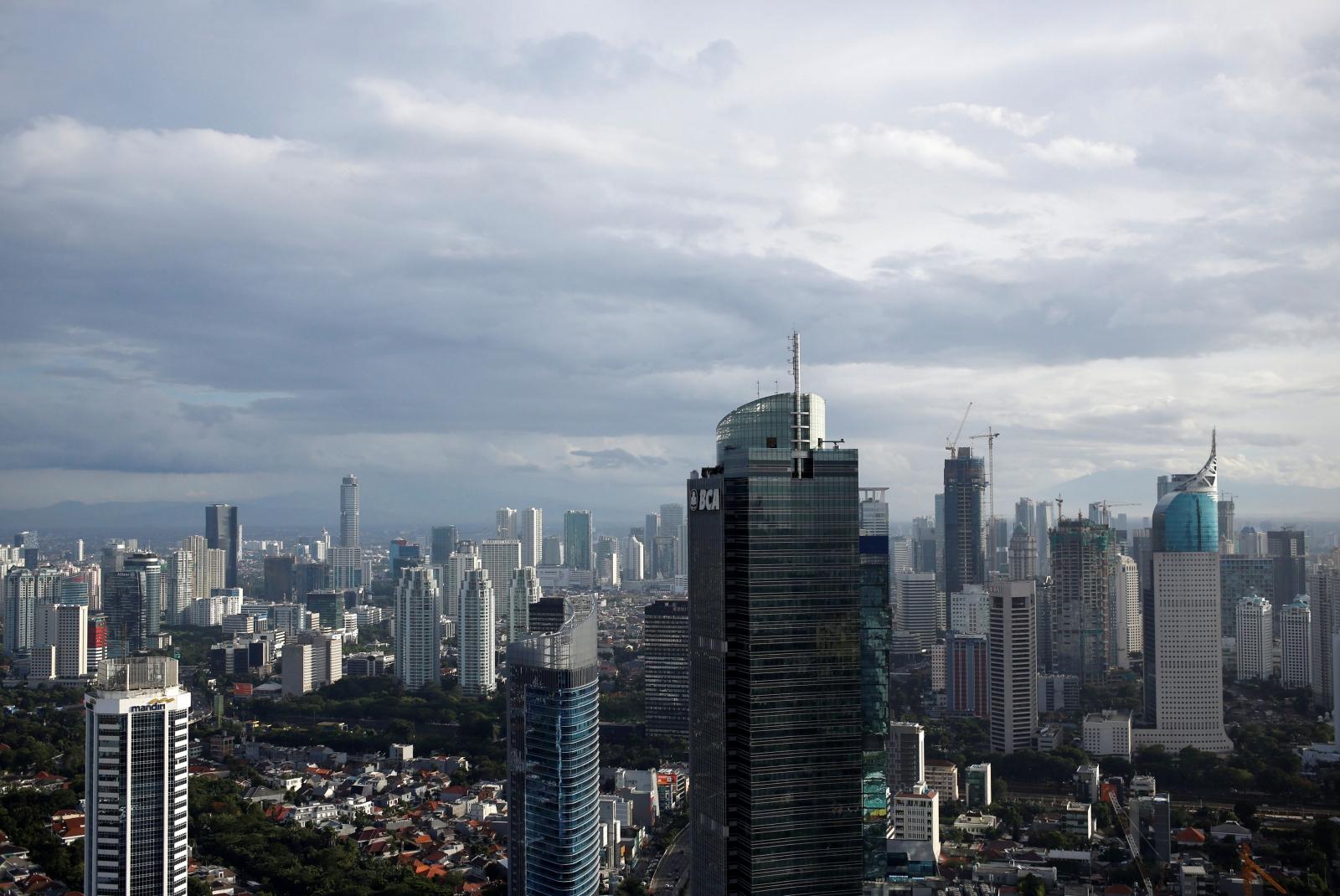 Jakarta City Skyline Indonesia