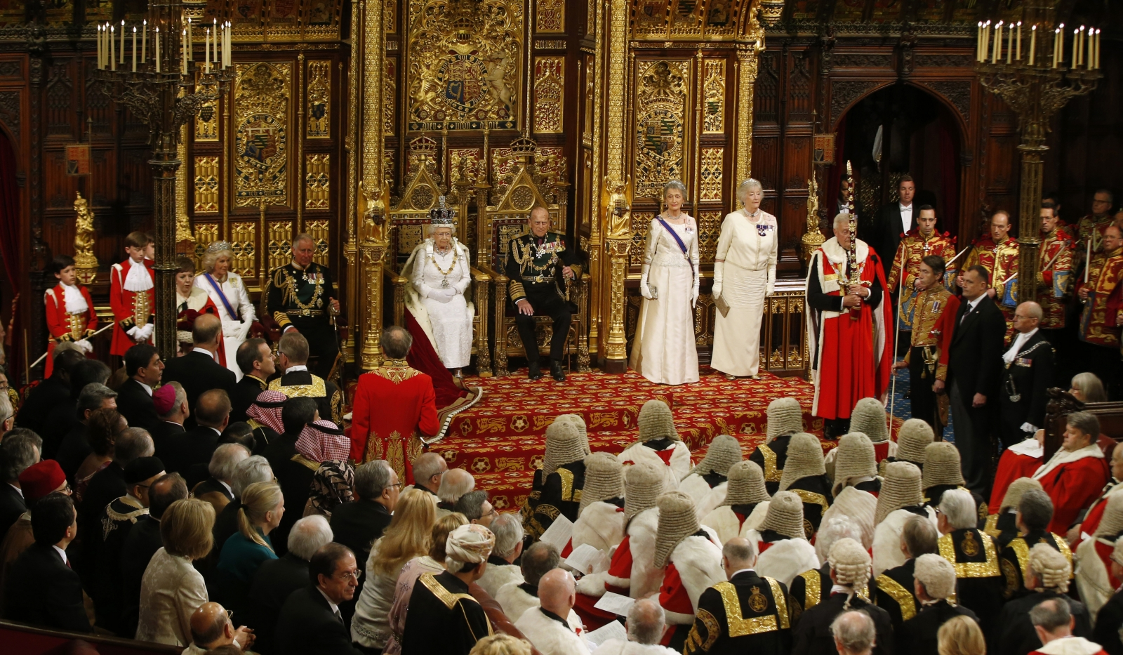 Queen's Speech Parliament 2016