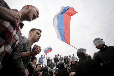 Russia Putin protests Alexei Navalny