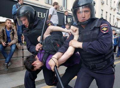 St Petersburg protest 2
