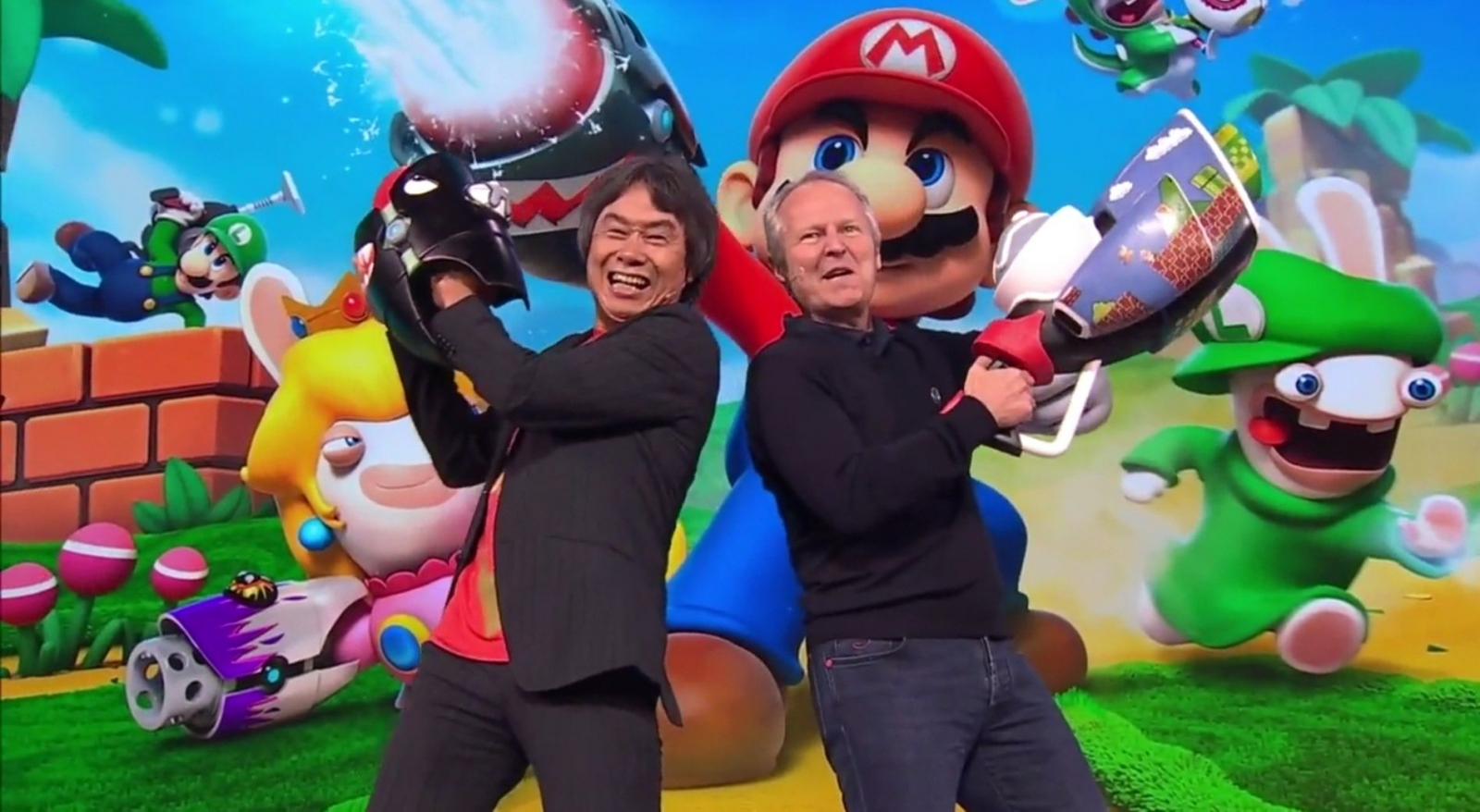 'Mario + Rabbids Kingdom Battle' Gets Official Release Date