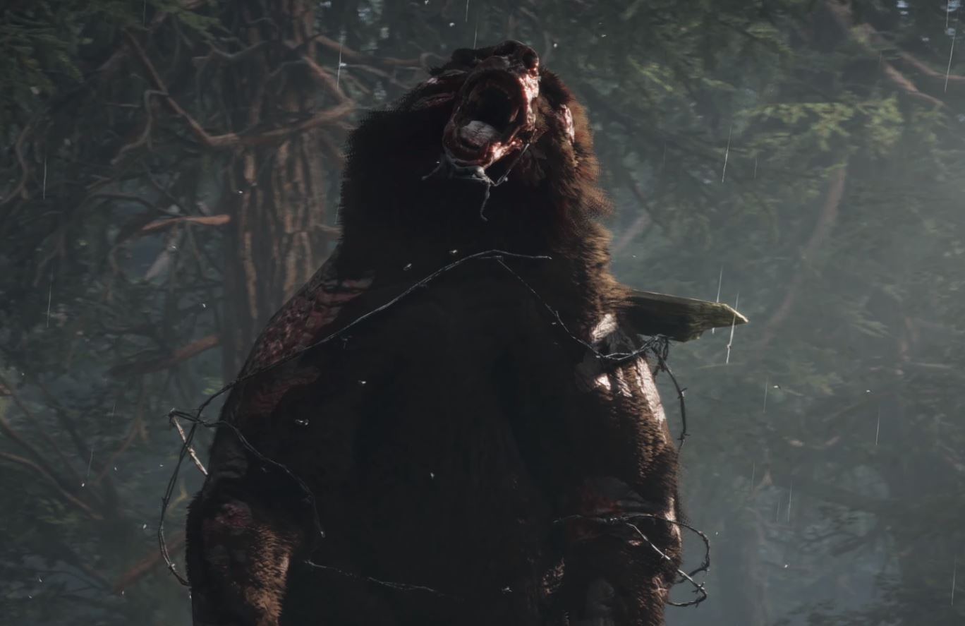 Days Gone PS4 Bear