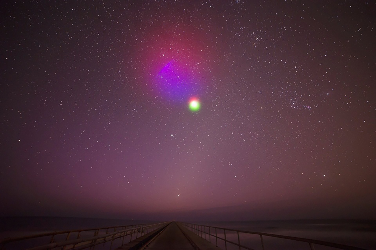 NASA will launch rocket to create multicoloured clouds in space