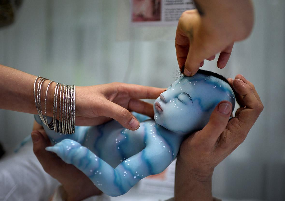 Reborns Photos Of Creepy Hyper Realistic Silicone Newborn
