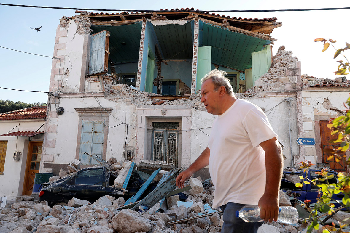 Earthquake Lesbos Greece Turkey