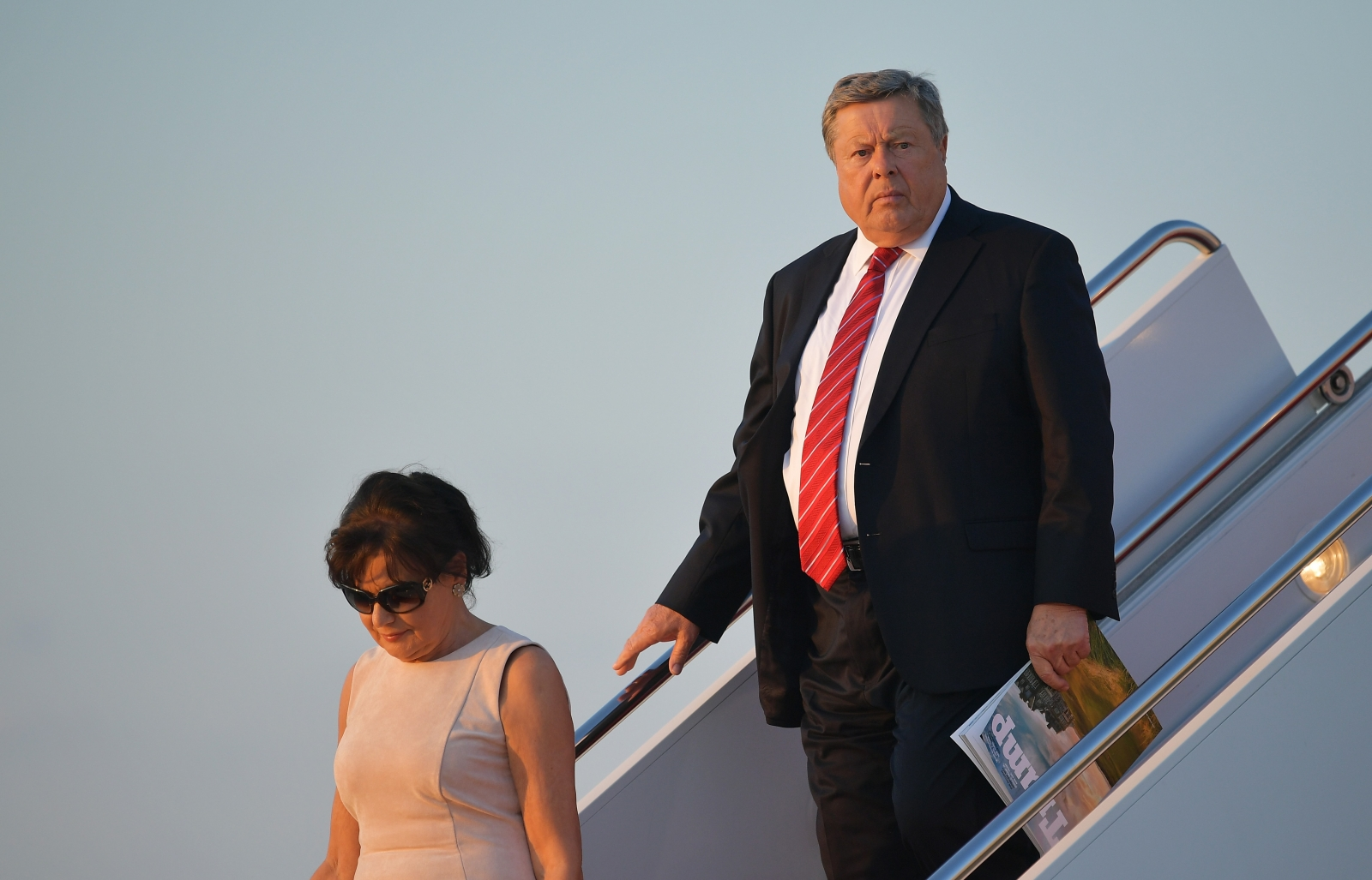 Melania Trump's father looks 'eerily' similar to Donald Trump and the ...
