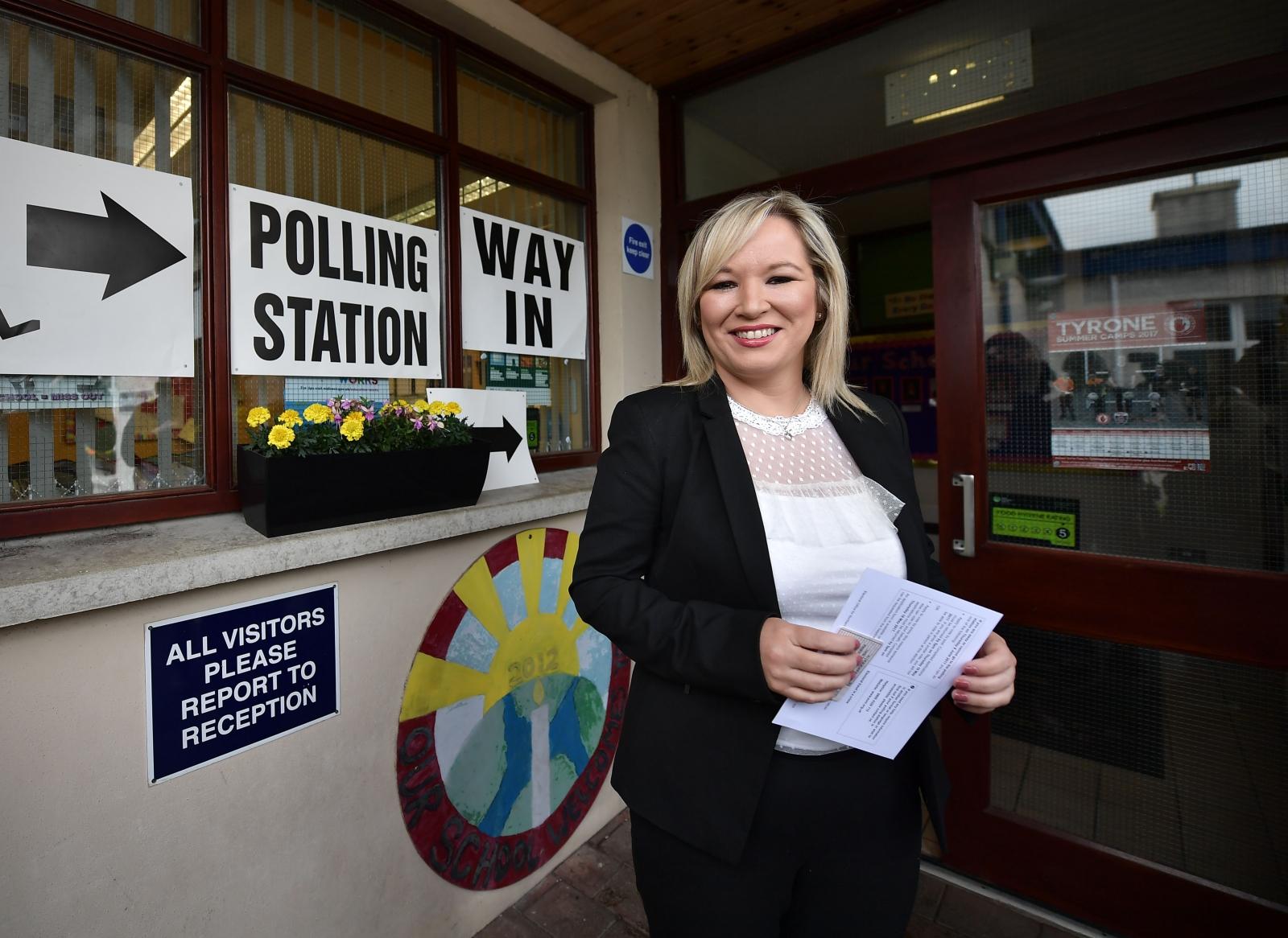 Sinn Fein Leader Michelle O'Neil