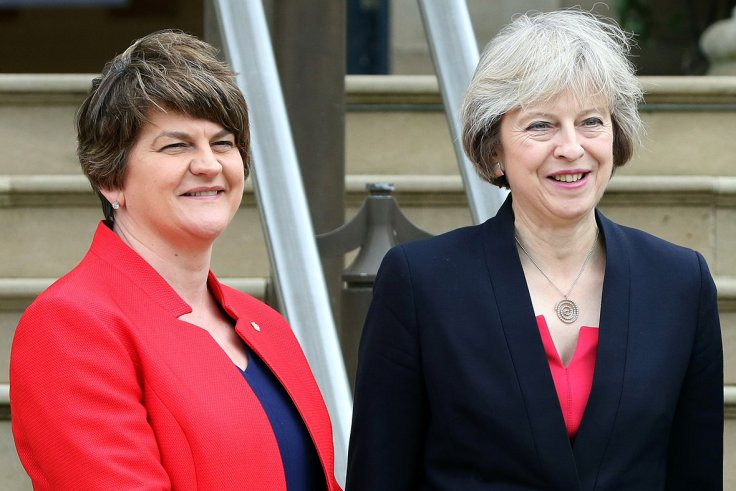 Theresa May Arlene Foster