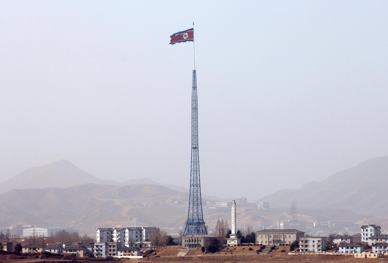 North Korean national flag