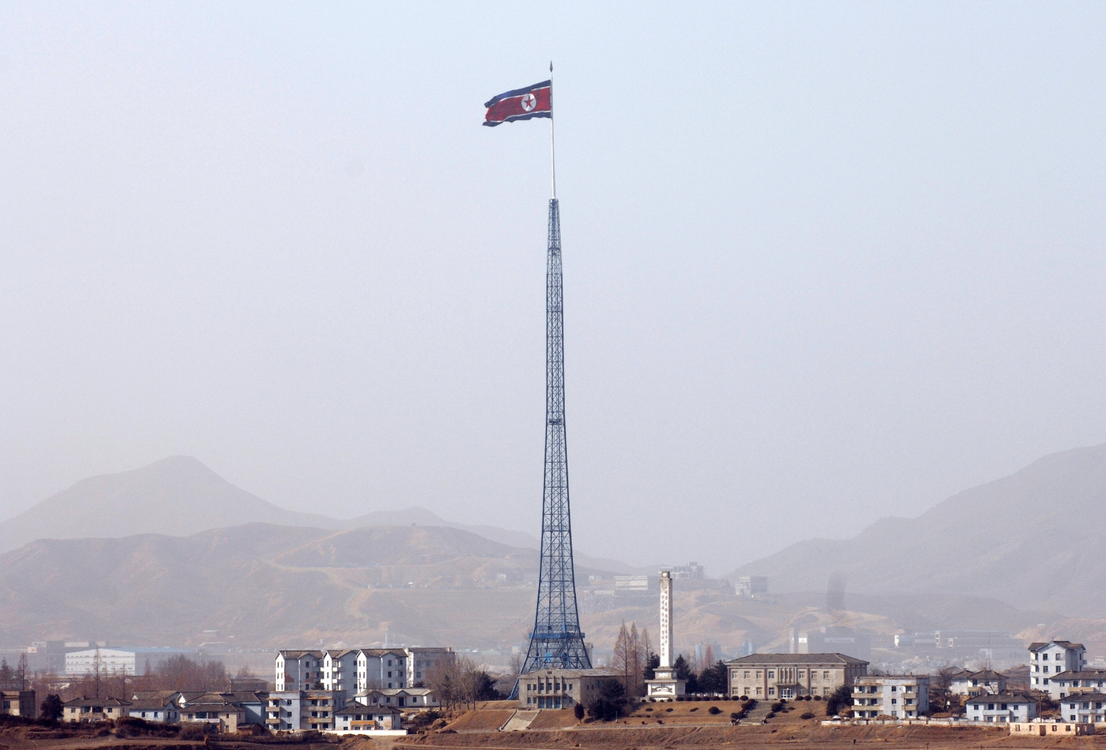 North Korean national flag