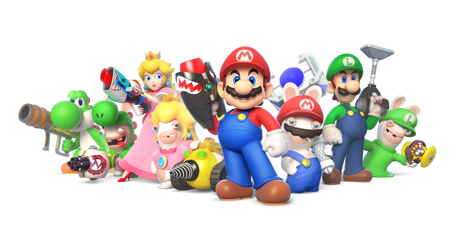 Mario + Rabbids: Kingdom Battle characters
