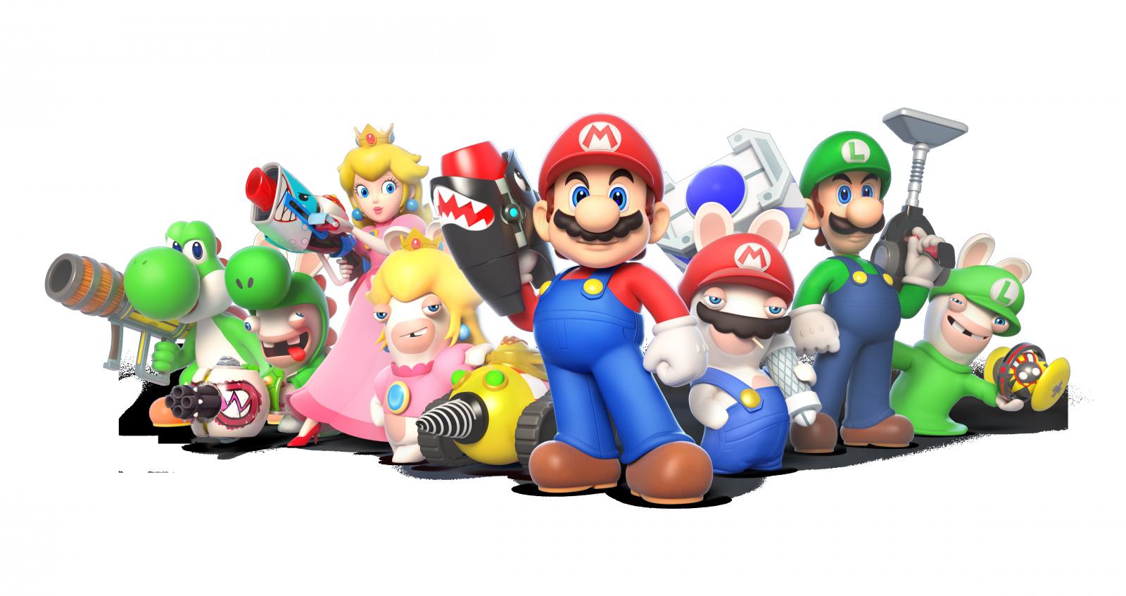 Mario + Rabbids: Kingdom Battle characters