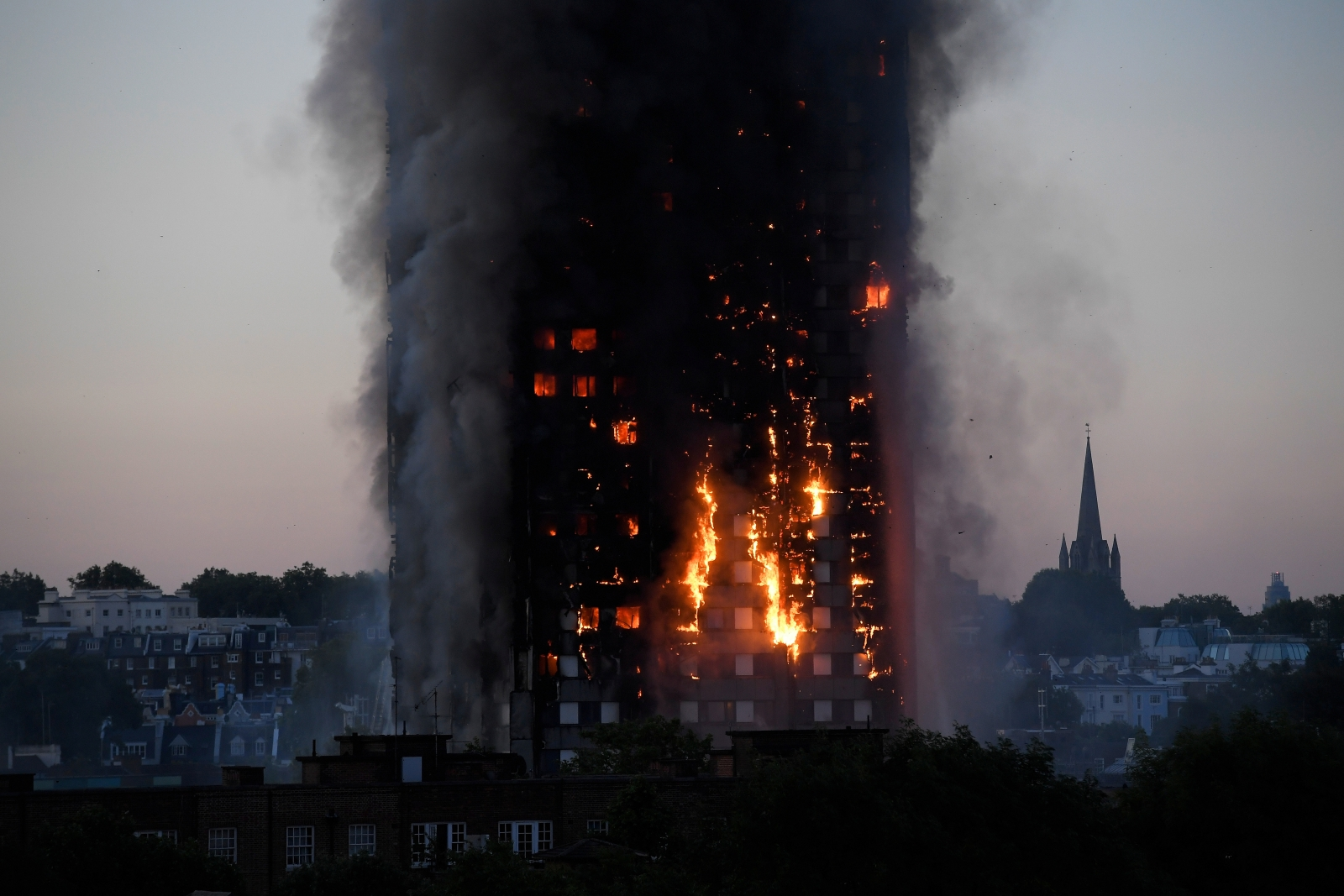 West London tower fire