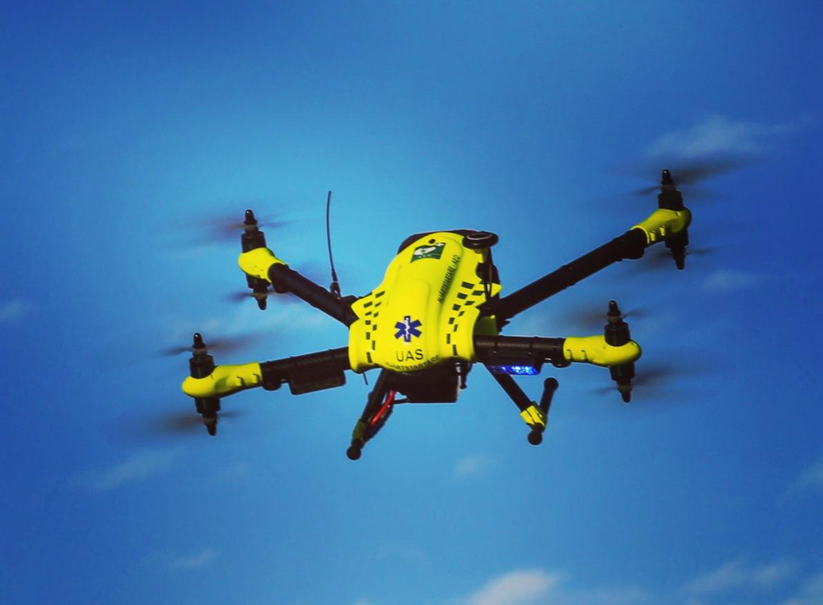 FlyPulse medical drone