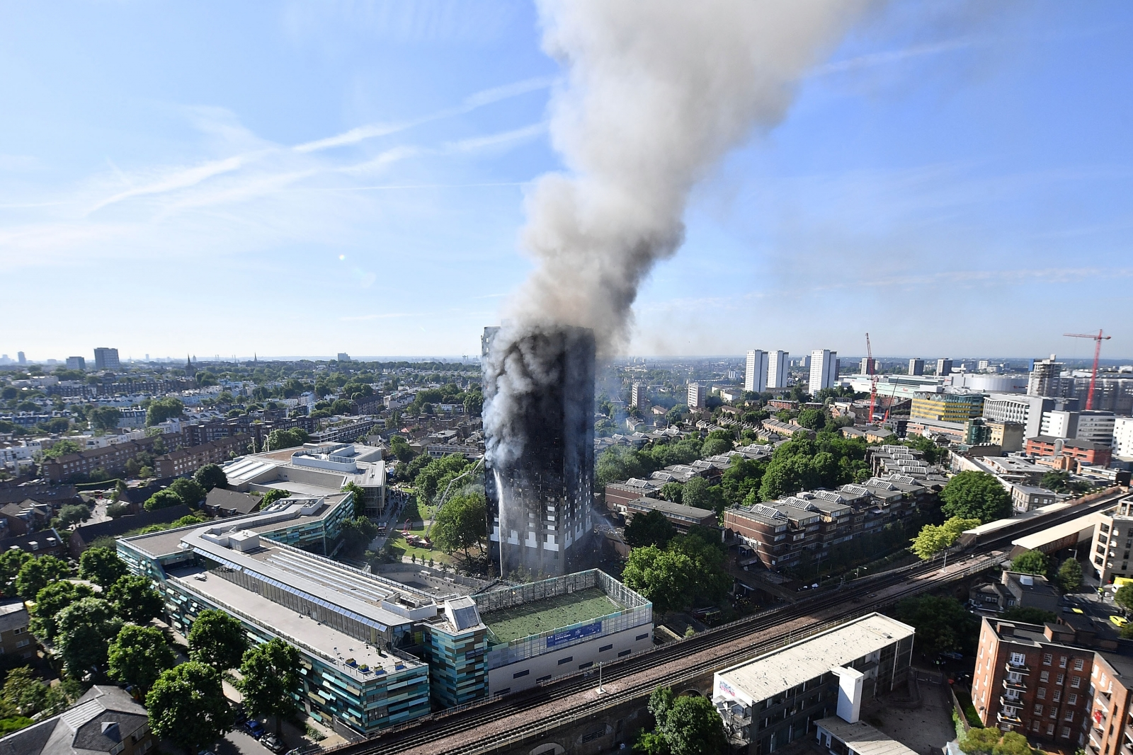 London Grenfell Tower Fire - cover