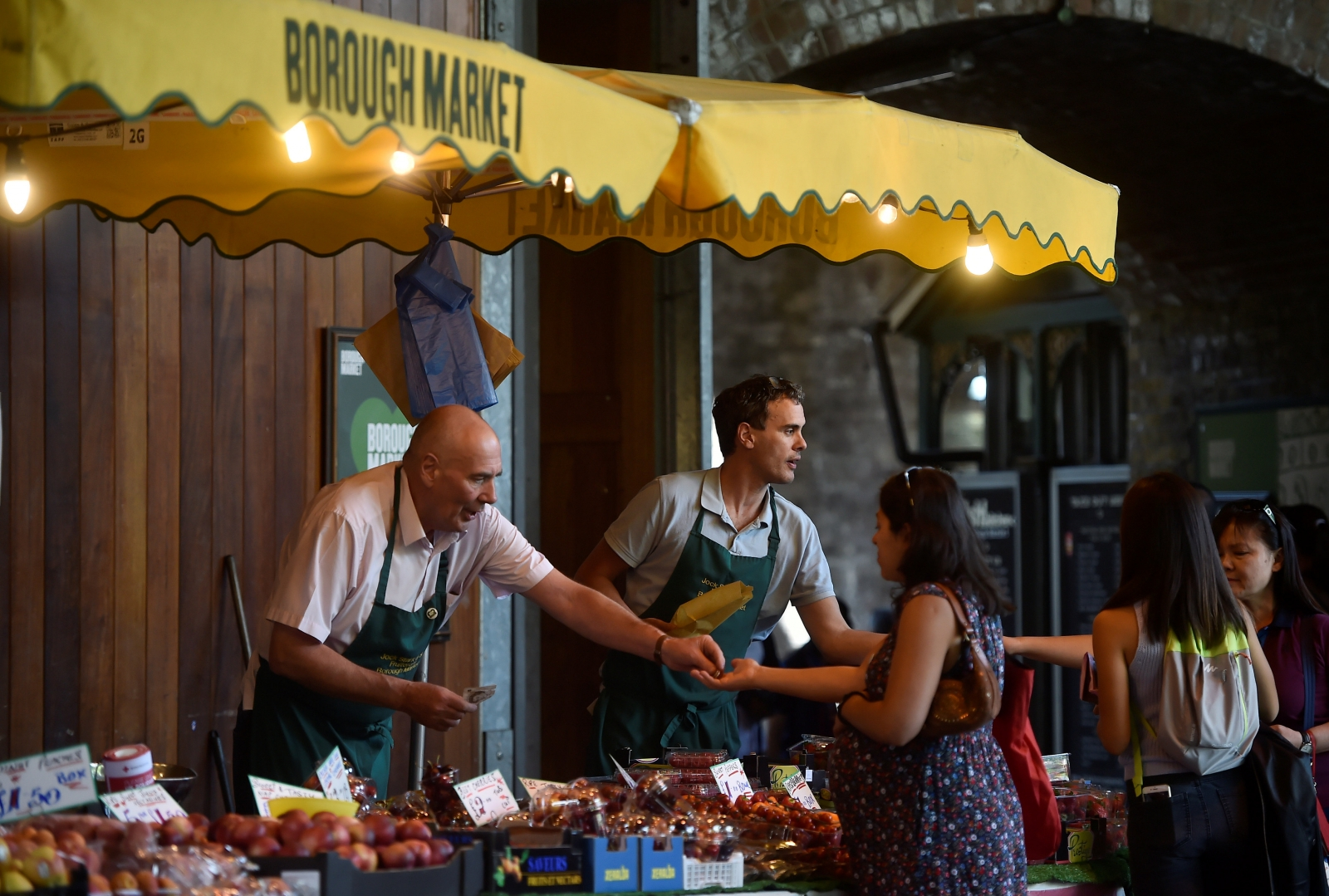 Borough Market reopens after London Bridge attack