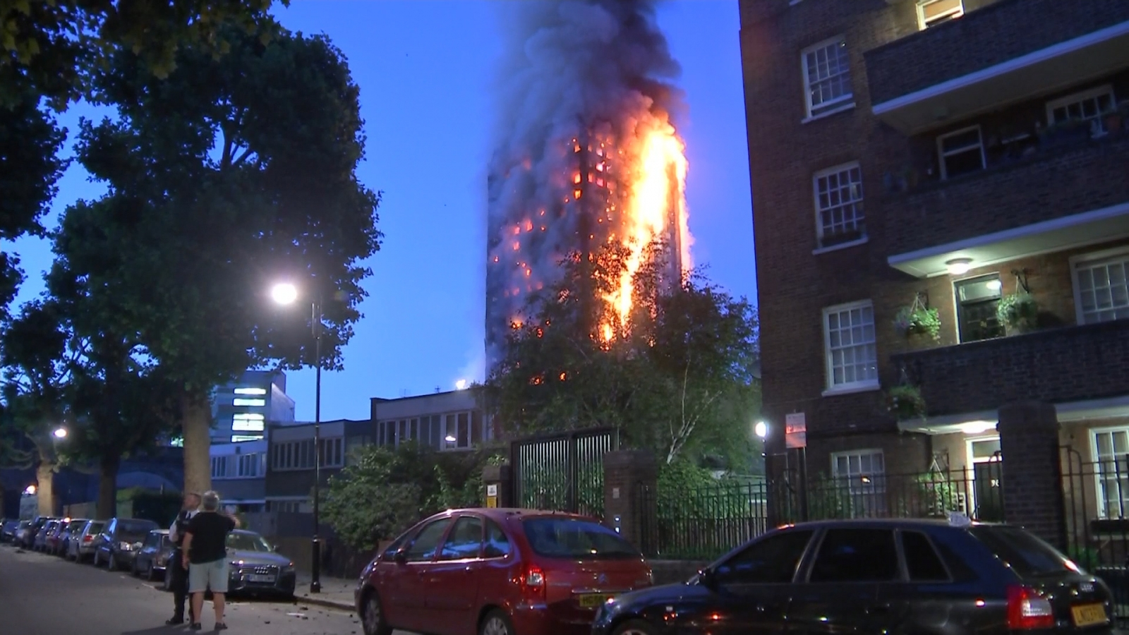 Local Reverend describes how London fire brought images of 9/11 back
