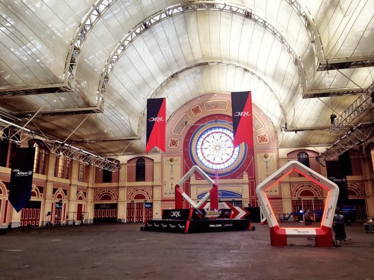 DRL's professional drone race circuit at Alexandra Palace