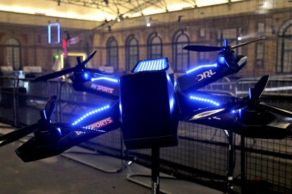 A giant replica of DRL Racer 3