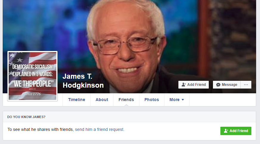 James T Hodgkinson Facebook