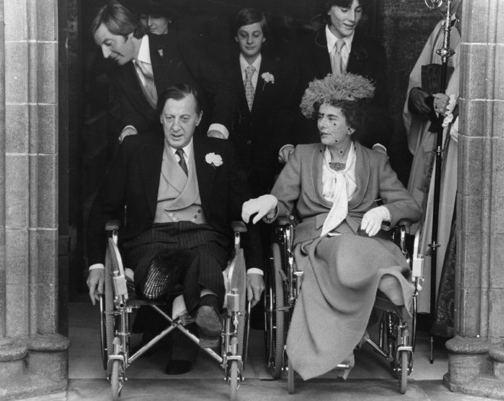 Lord Brabourne and his wife, Countess Mountbatten of Burma