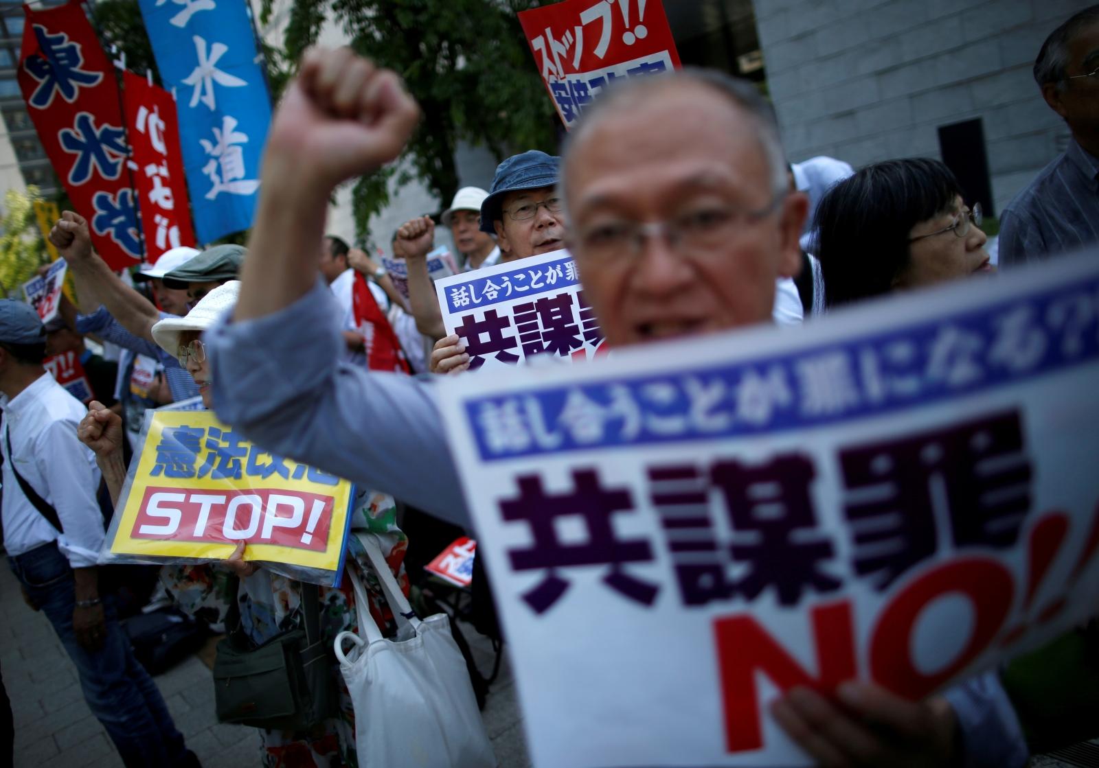 Japan anti-terror conspiracy bill