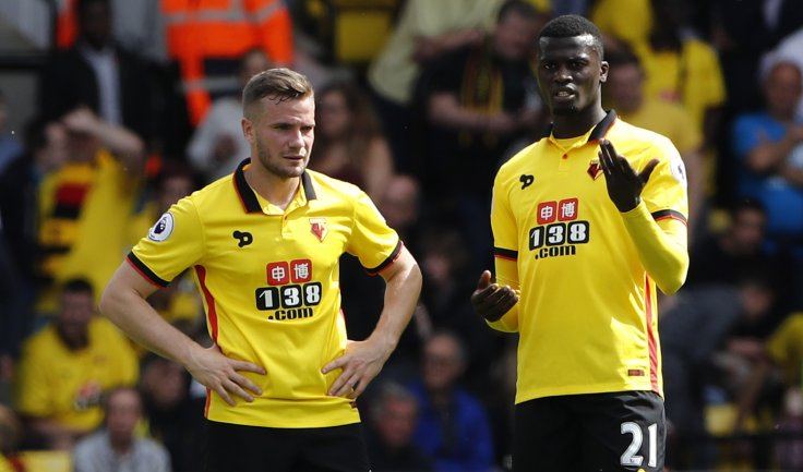 Tom Cleverley and M'Baye Niang